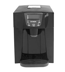 Igloo ICE227-Black Compact Ice Maker and Water Dispenser, Bl