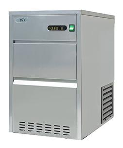 SPT IM-661C 66 lbs Automatic Stainless Steel Ice Maker, Silv