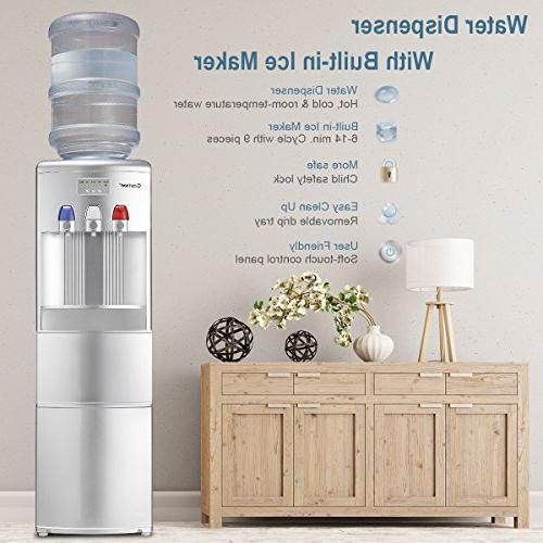 Dispenser with Maker Freestanding Hot Cold Top Child