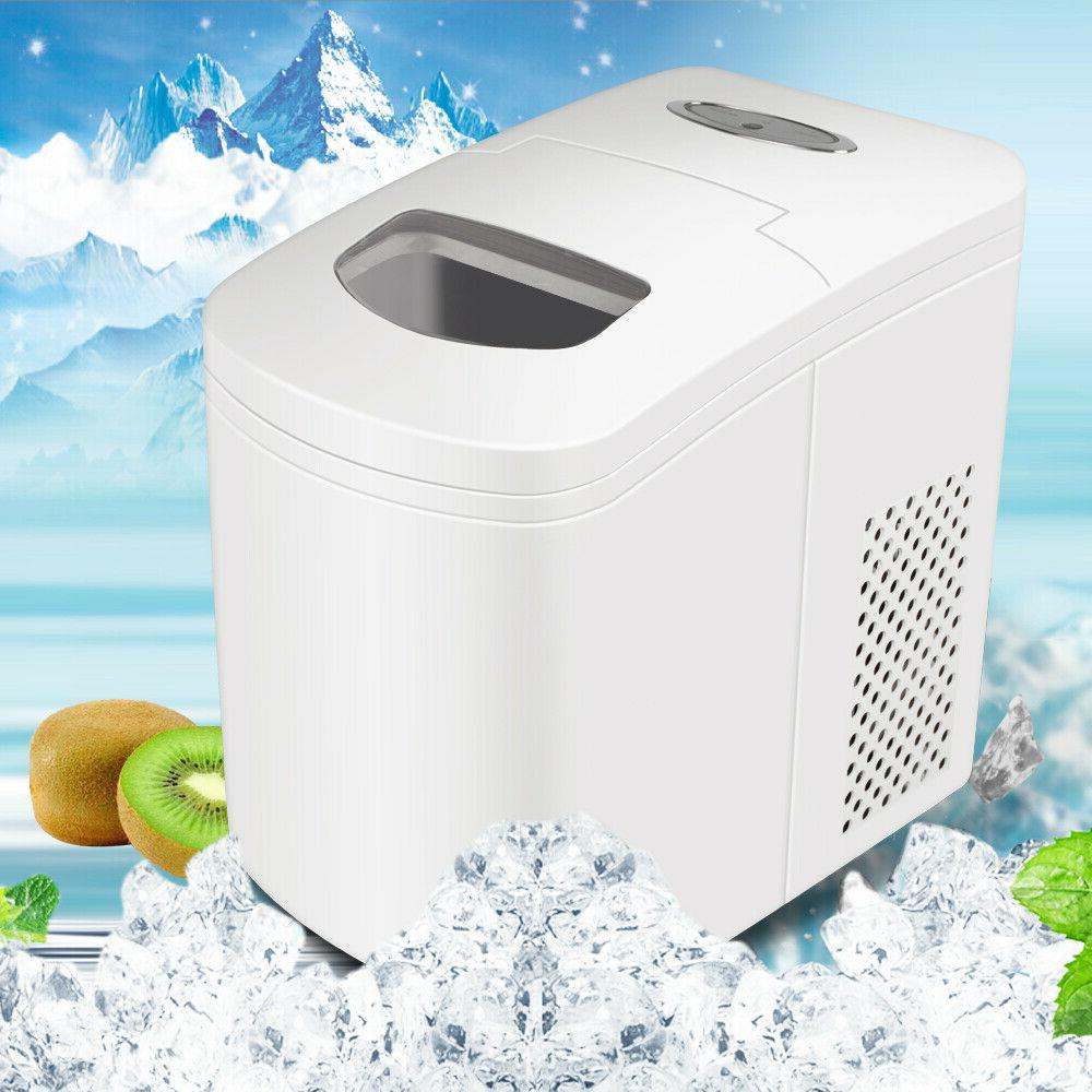 Low noise Portable Ice Maker Machine Ice Cubes 22 lbs/Day Ic