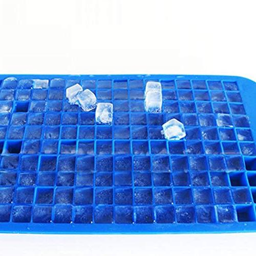 160 Grids Ice Tray Mold Mould Bar Blue