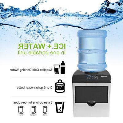 2 in Water Dispenser Maker Portable Steel 33lbs/Day