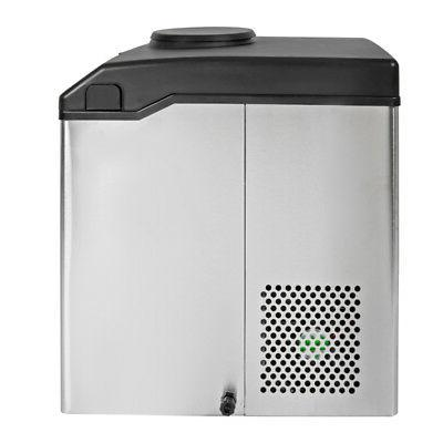 2 1 Dispenser w/Built Maker Portable Stainless Steel 33lbs/Day