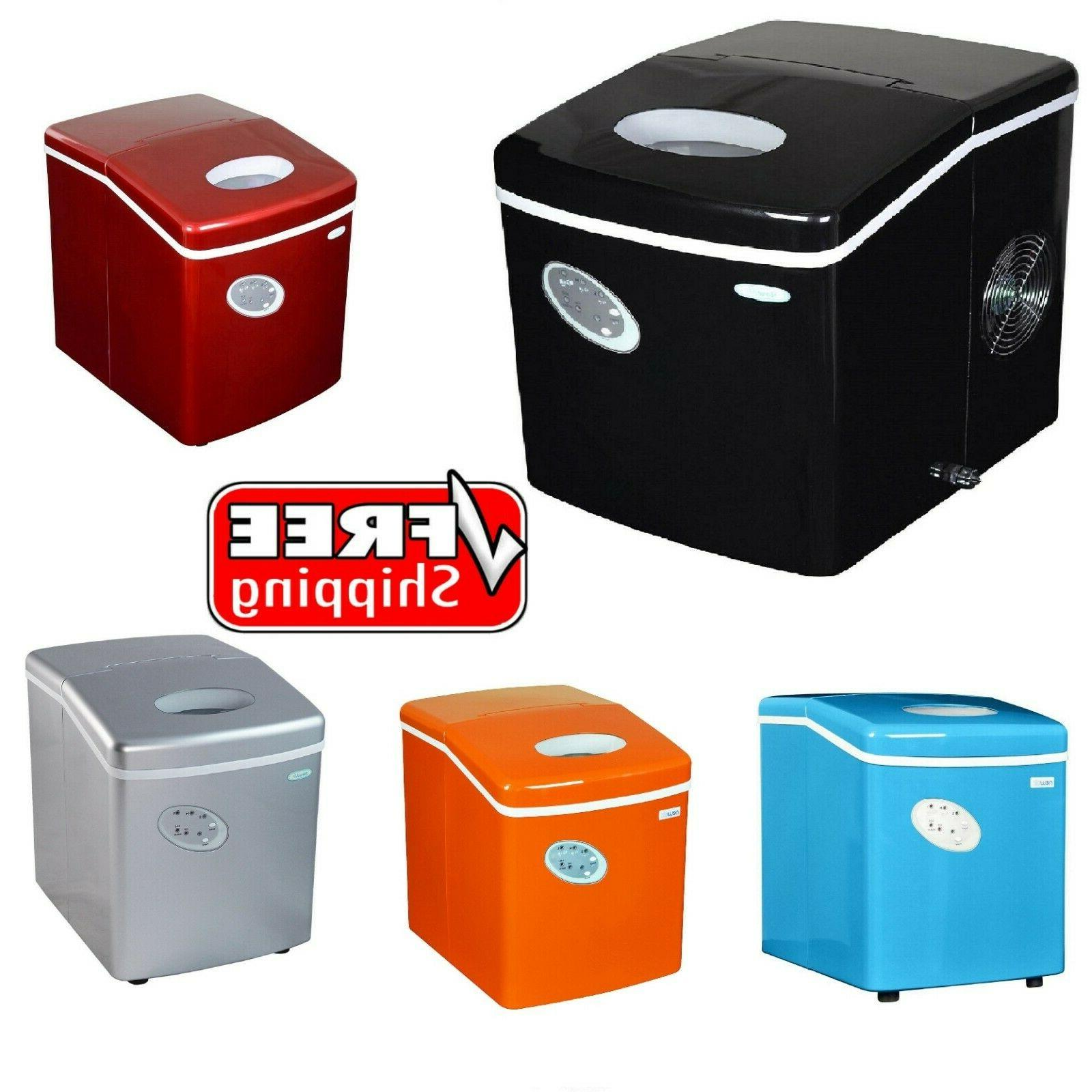28lbs portable ice maker assorted colors free