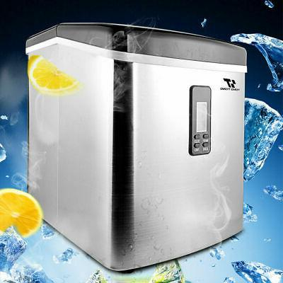 3 2l stainless steel countertop ice maker