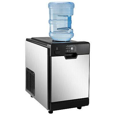 35KG/24H with Cool Dispenser Storage Ice Making