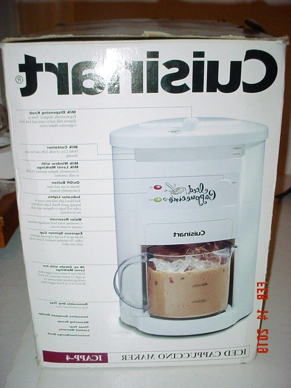 CUISINART CUP CAPPUCCINO OR HOT USED -