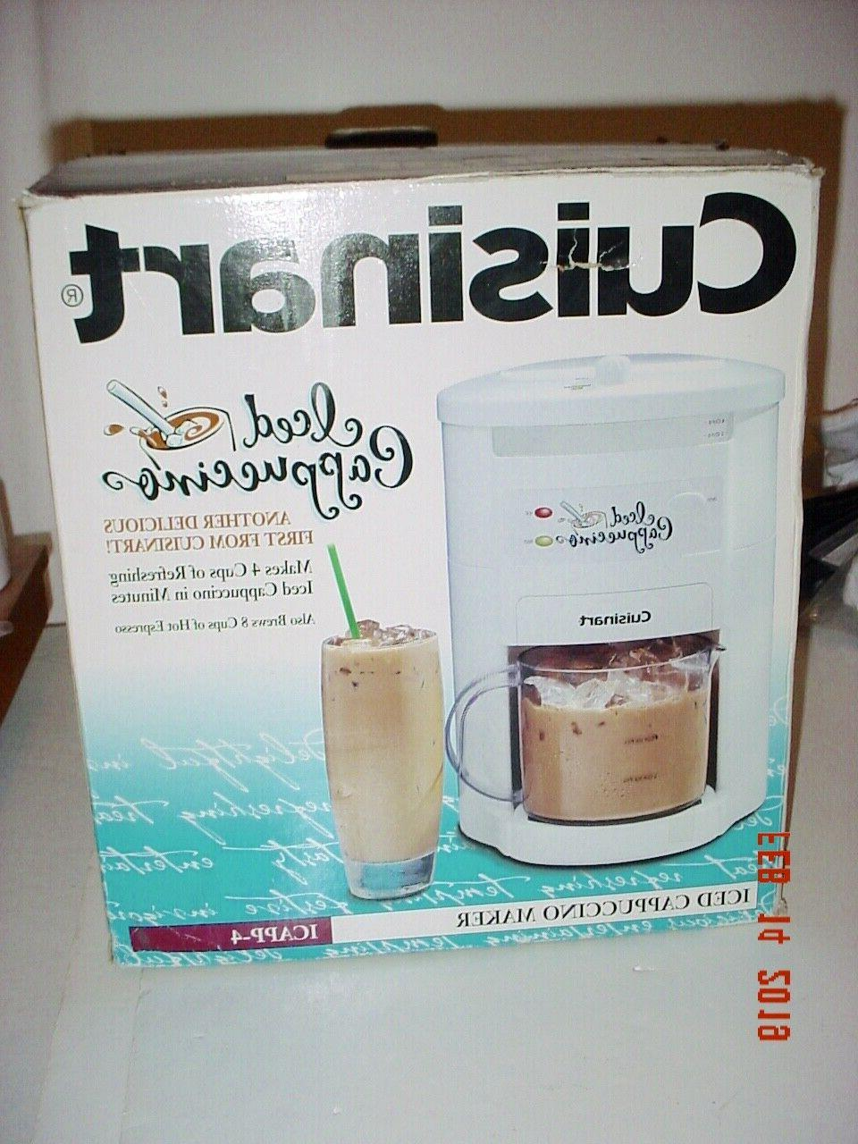 CUISINART 4 CAPPUCCINO HOT USED -