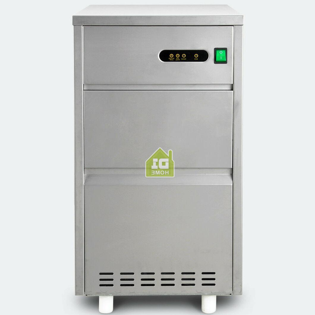 44lb Restaurant Ice Maker Machine Steel Home Auto