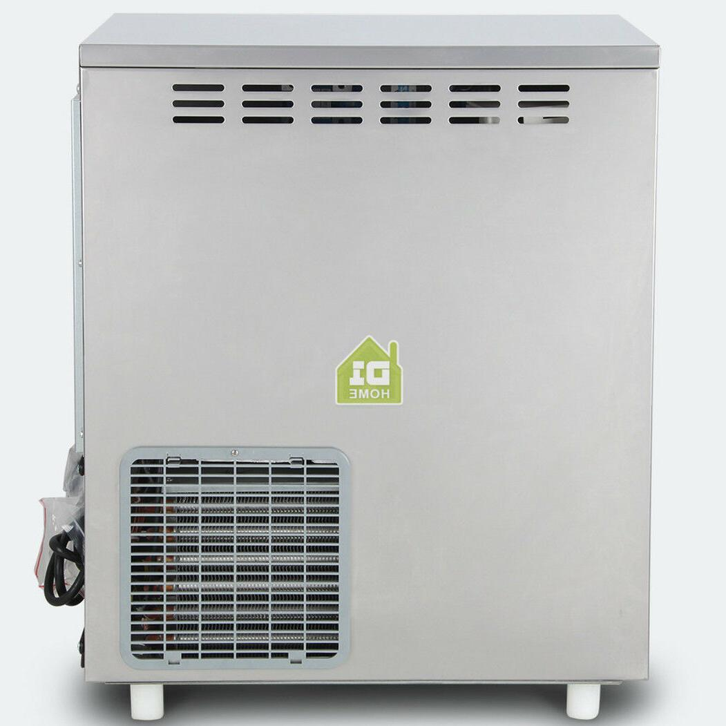44lb Restaurant Ice Maker Steel Auto