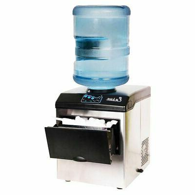 Electric Water Dispenser w/ Built-In Ice Machine
