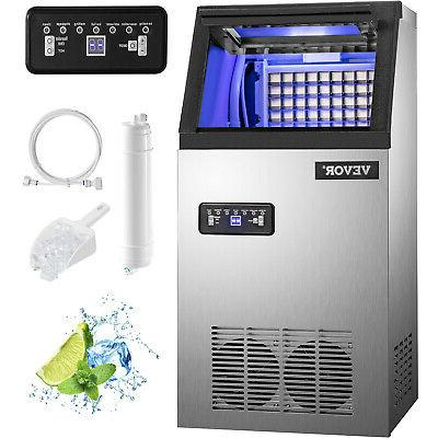 50kg automatic commercial ice maker cube machine