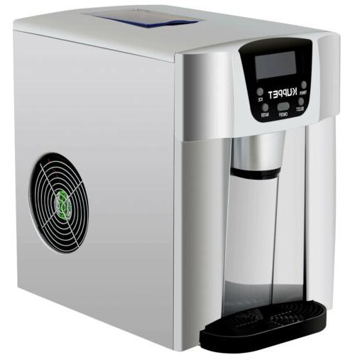 2 in Portable Electric Fridge Ice Maker Cube 36lbs/ Day