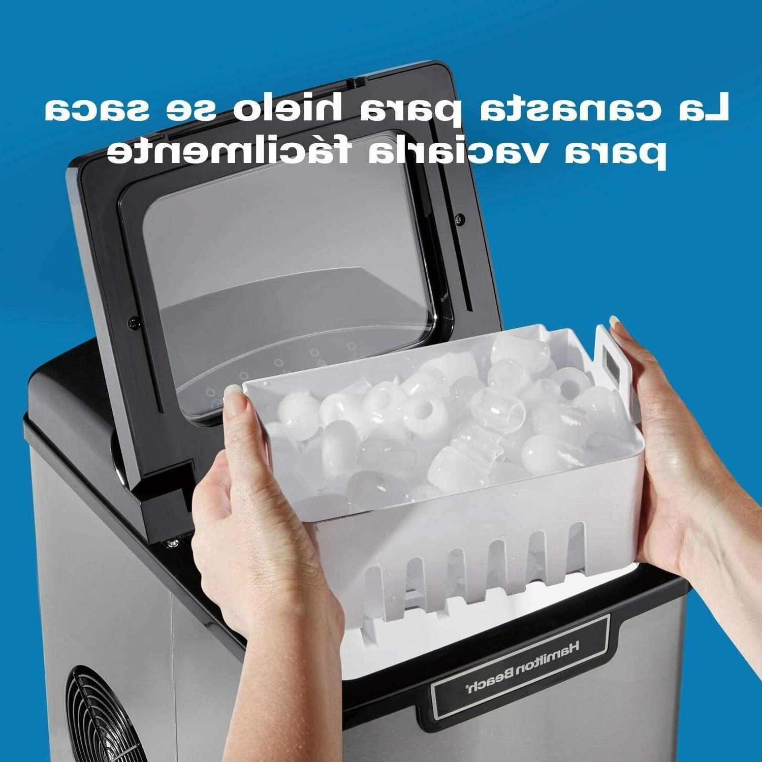 Ice Maker Compact Portable Pounds Day