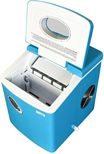 Blue Mini Portable Cube Machine