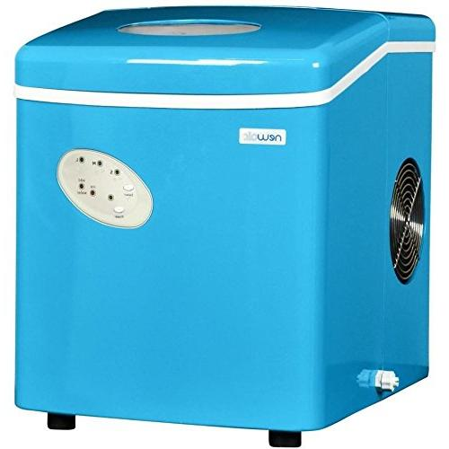 Blue Mini Compact Portable Ice Maker