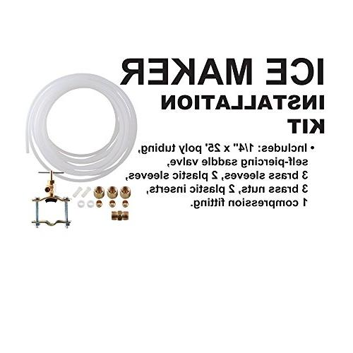Ice Installation Kit by Choice Hose And Poly Tubing, Includes Everything Necessary For