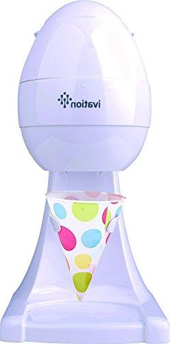 Ivation IS80 Electric Ice Shaver, Snow Cone Maker, Shaved Ic