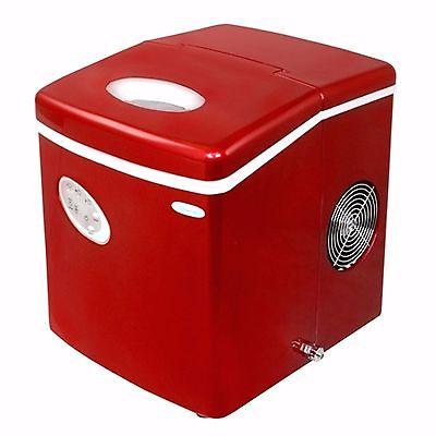 NewAir AI-100R Portable Ice Ice Red NEW