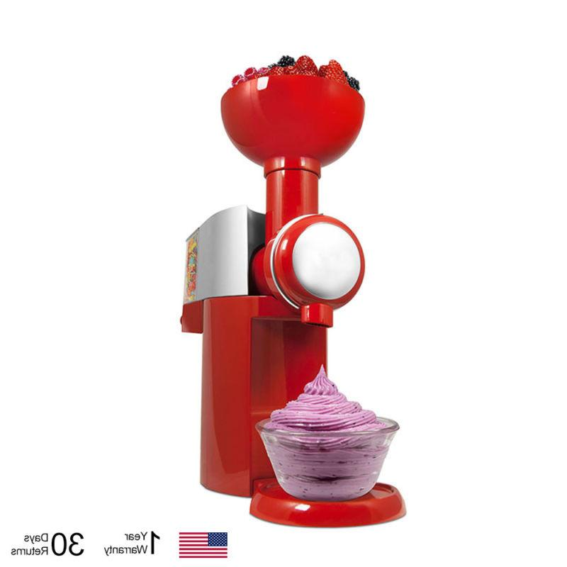 110v automatic ice cream makers frozen fruit