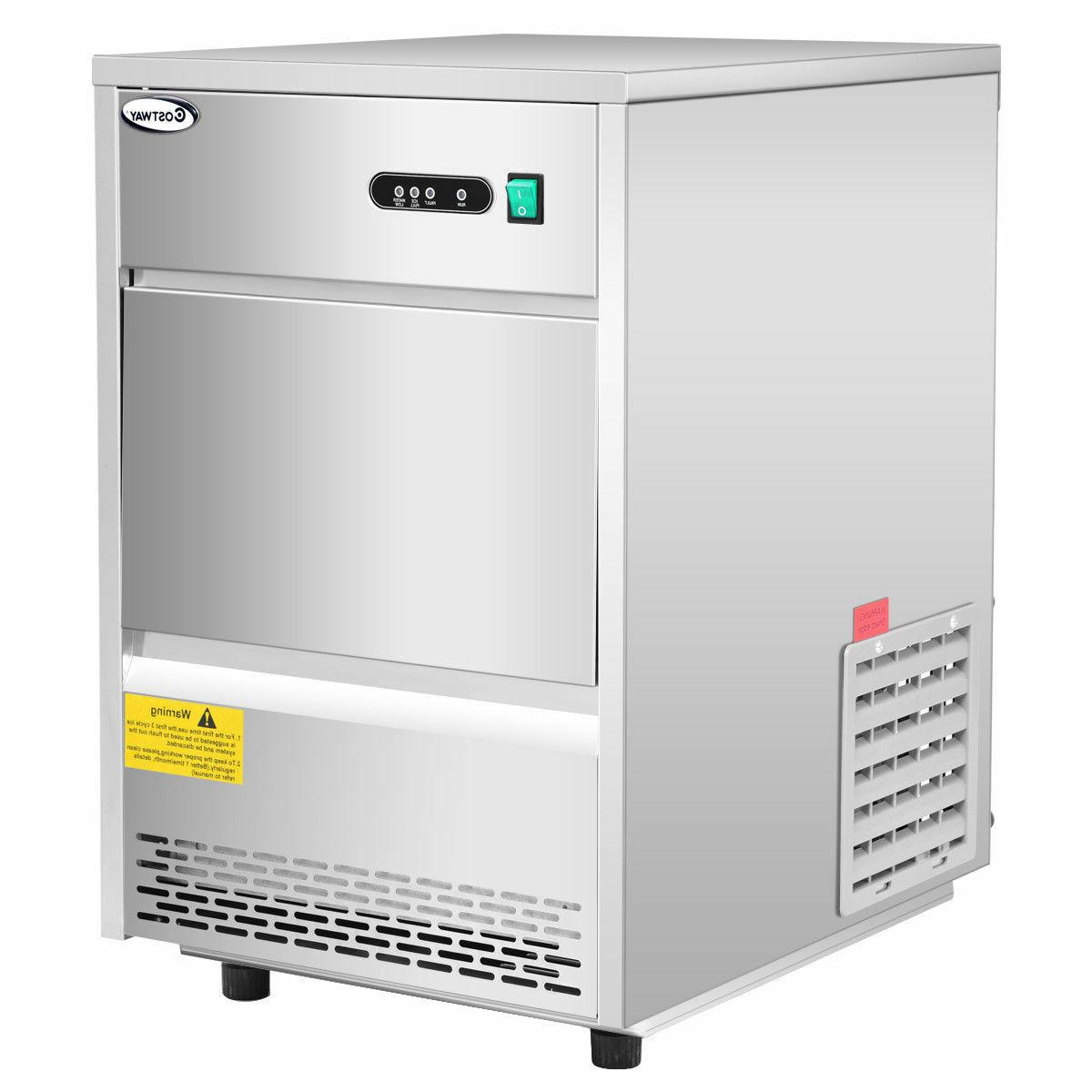 Costway Commercial Automatic Ice Maker Machine 70lbs/24h Sta