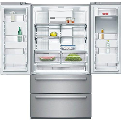 B21CL80SNS French 20.8 cu. ft. Capacity 2 Freezer Drawer AirCool and Ice Maker: Stainless