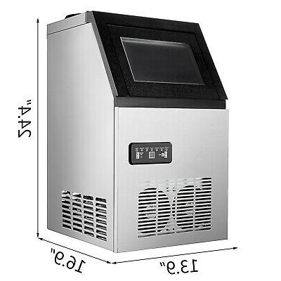 Built-in Commercial Stainless Steel Ice Machine