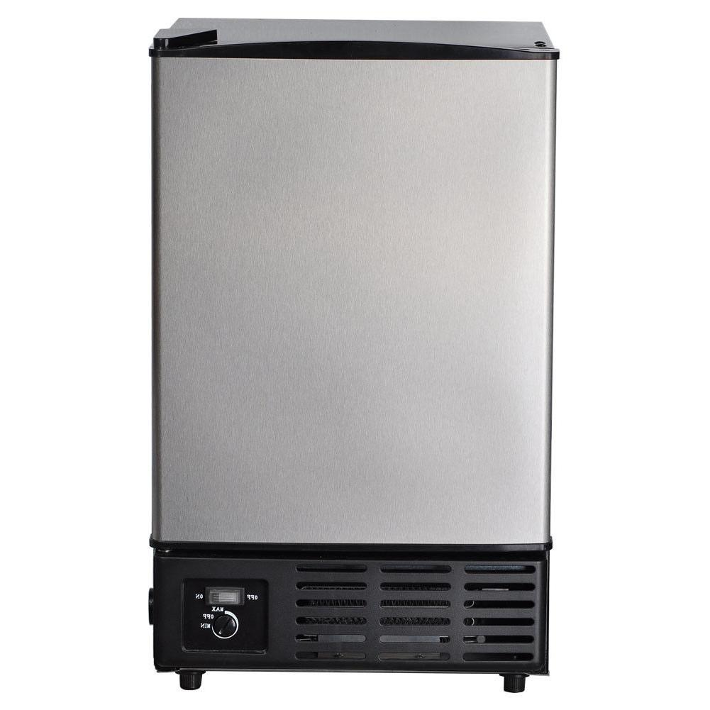 SMAD Stainless Steel Ice Maker Free-Standing Ice Cube Machin