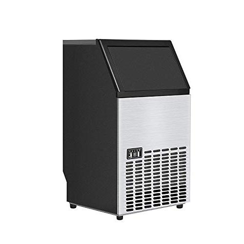 Costzon Stainless Commercial Ice Maker Portable Ice