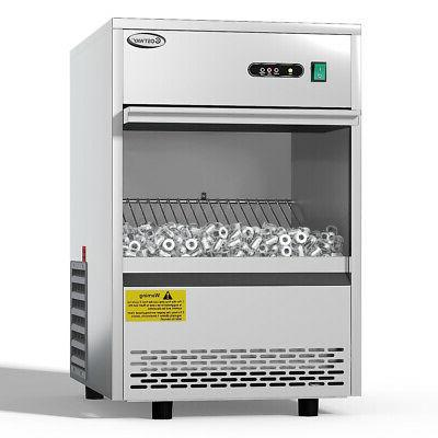commercial automatic ice maker machine 70lbs 24h