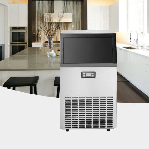 Portable Ice Maker Auto Built-in Stainless Machine