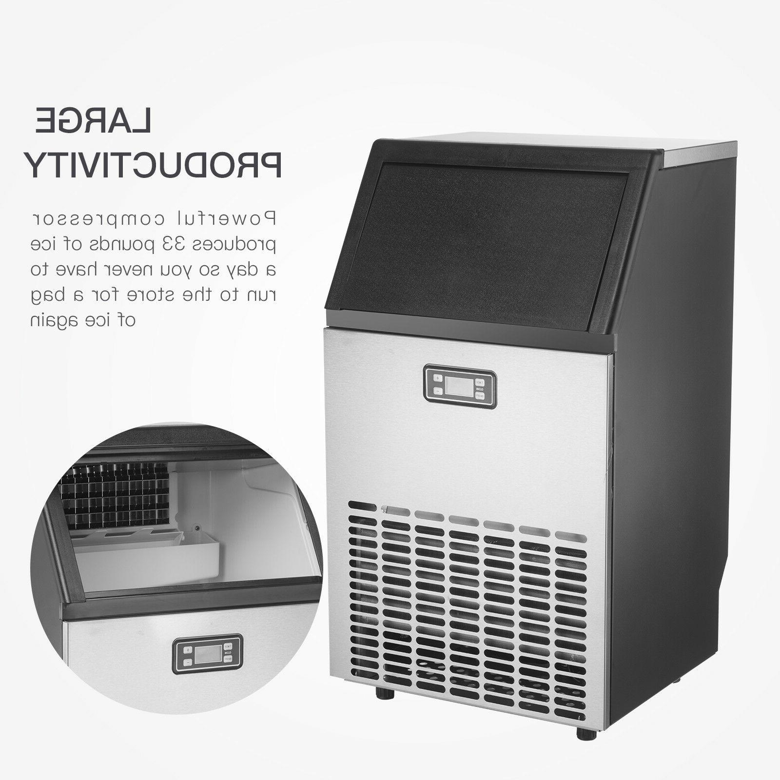 Portable Auto Built-in Cube Stainless Machine