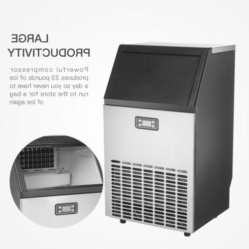 Commercial Built-in Stainless Restaurant Ice Cube Machine