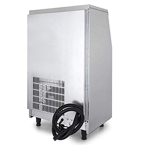 VEVOR 110V Ice Maker Automatic Machine Built-In Ice Auto Clean for Home Supermarkets