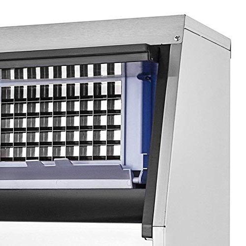 Maker Stainless Steel Automatic Ice Built-In Ice Machine Auto Supermarkets