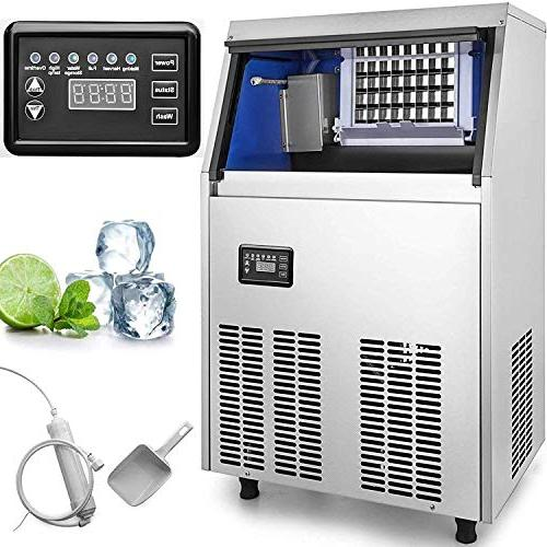 commercial ice maker stainless steel