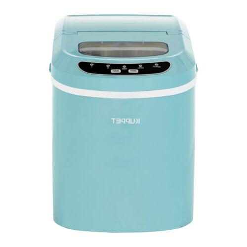 Electric Compact Portable Ice Maker Countertop Cube Machine