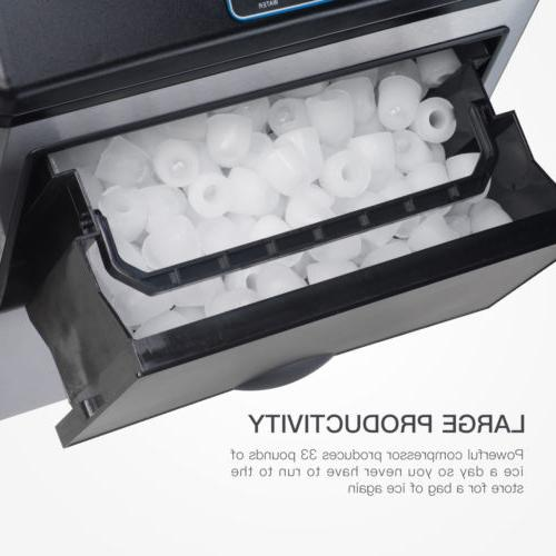 Water Ice Maker Portable Stainless