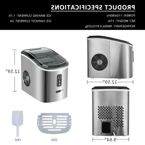 VIVOHOME Electric Maker Steel