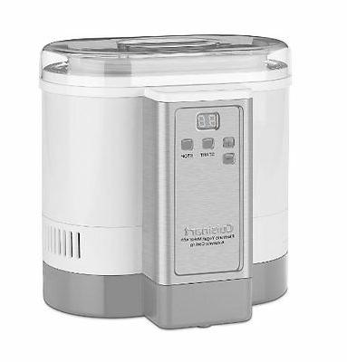 Cuisinart Electronic MAKER, 50 Ounce Stainless MACHINE, White