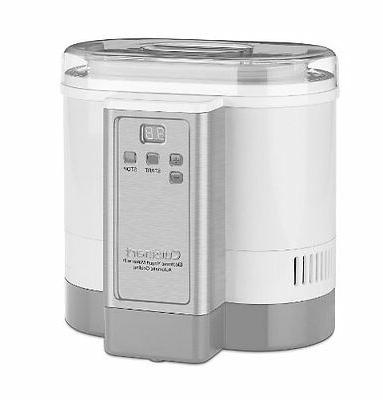 Cuisinart 50 Ounce Stainless Yogurt MACHINE,