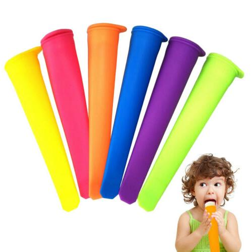 Silicone Popsicle-Mold Ice Cream Pop Makers Freezer Ice Crea