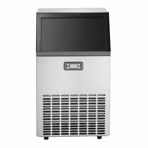 Commercial Bar Ice Machine Steel
