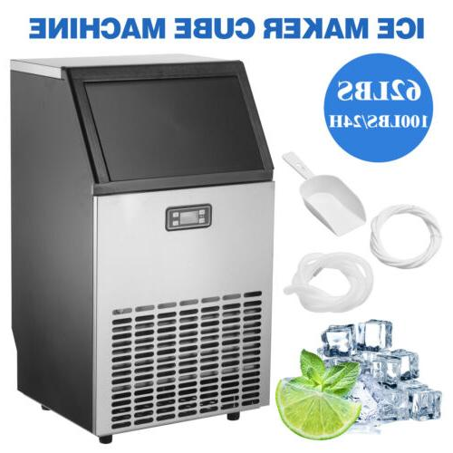 Commercial Ice Bar Restaurant Machine Stainless Steel