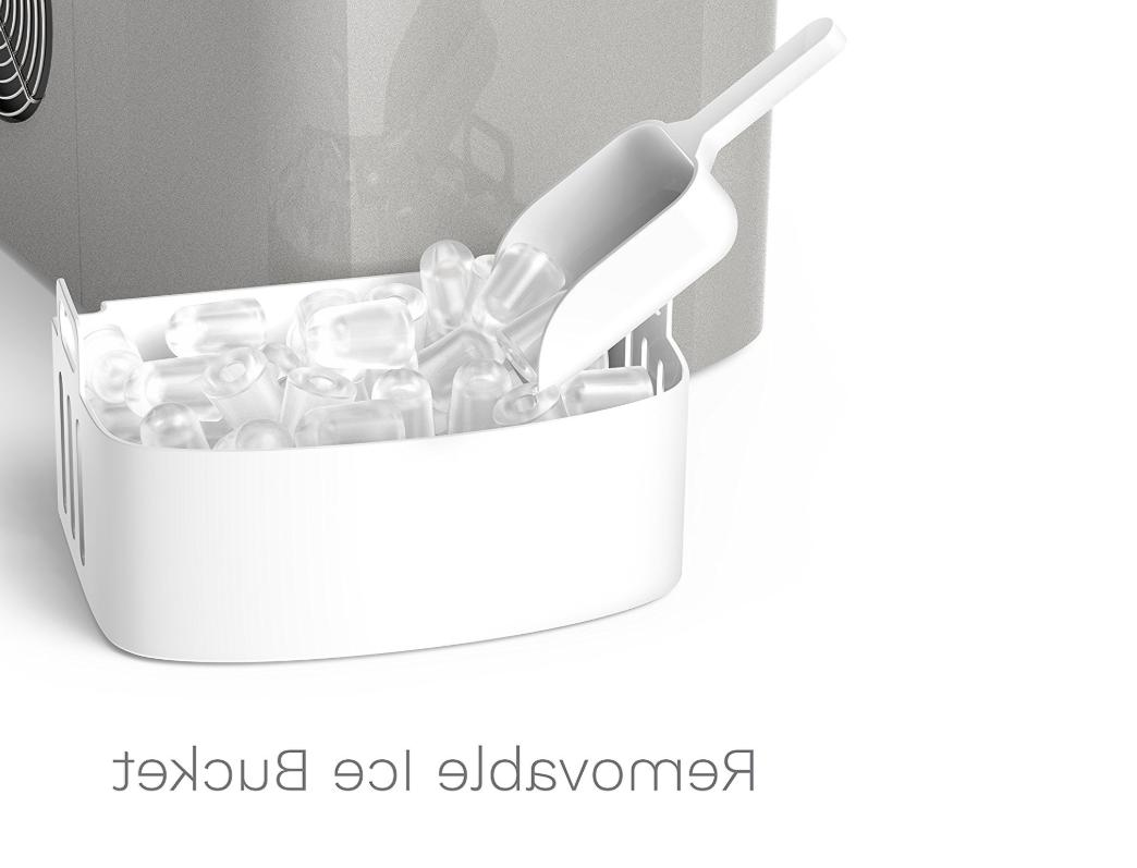 hOmeLabs Portable Ice Commercial Cubes