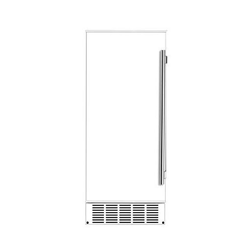 EdgeStar IB250SS Inch Wide Lb. Ice Maker with Lbs. Daily Production - Drain