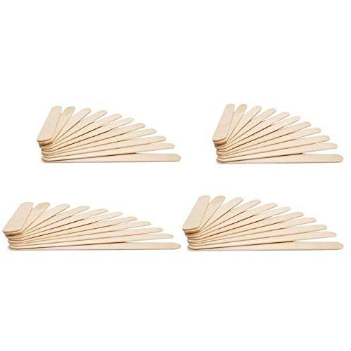 Ice Cream Sticks 50pcs Lot Burlywood Ice Lolly Hand Craft - For Kids Spoons Bamboo