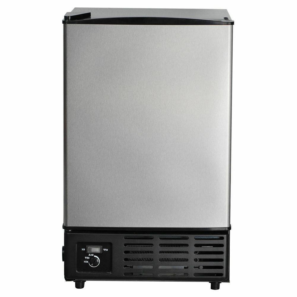 Smeta Built-In Commercial Ice Maker Undercounter Freestandin