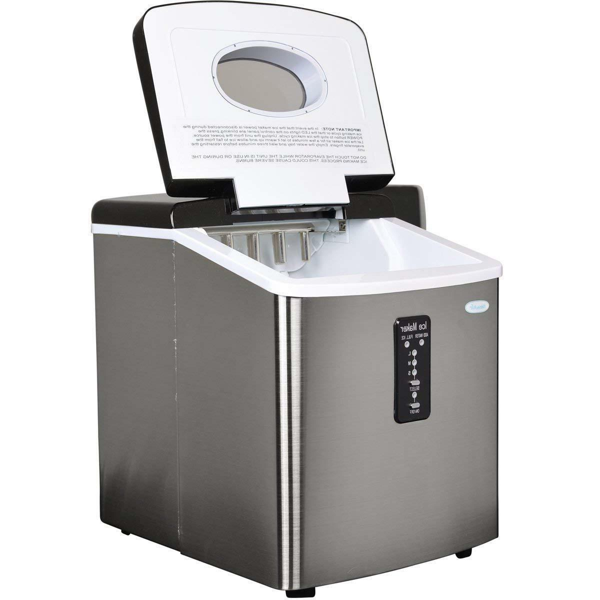 Ice Counter top Portable Sonic Nugget Dispenser