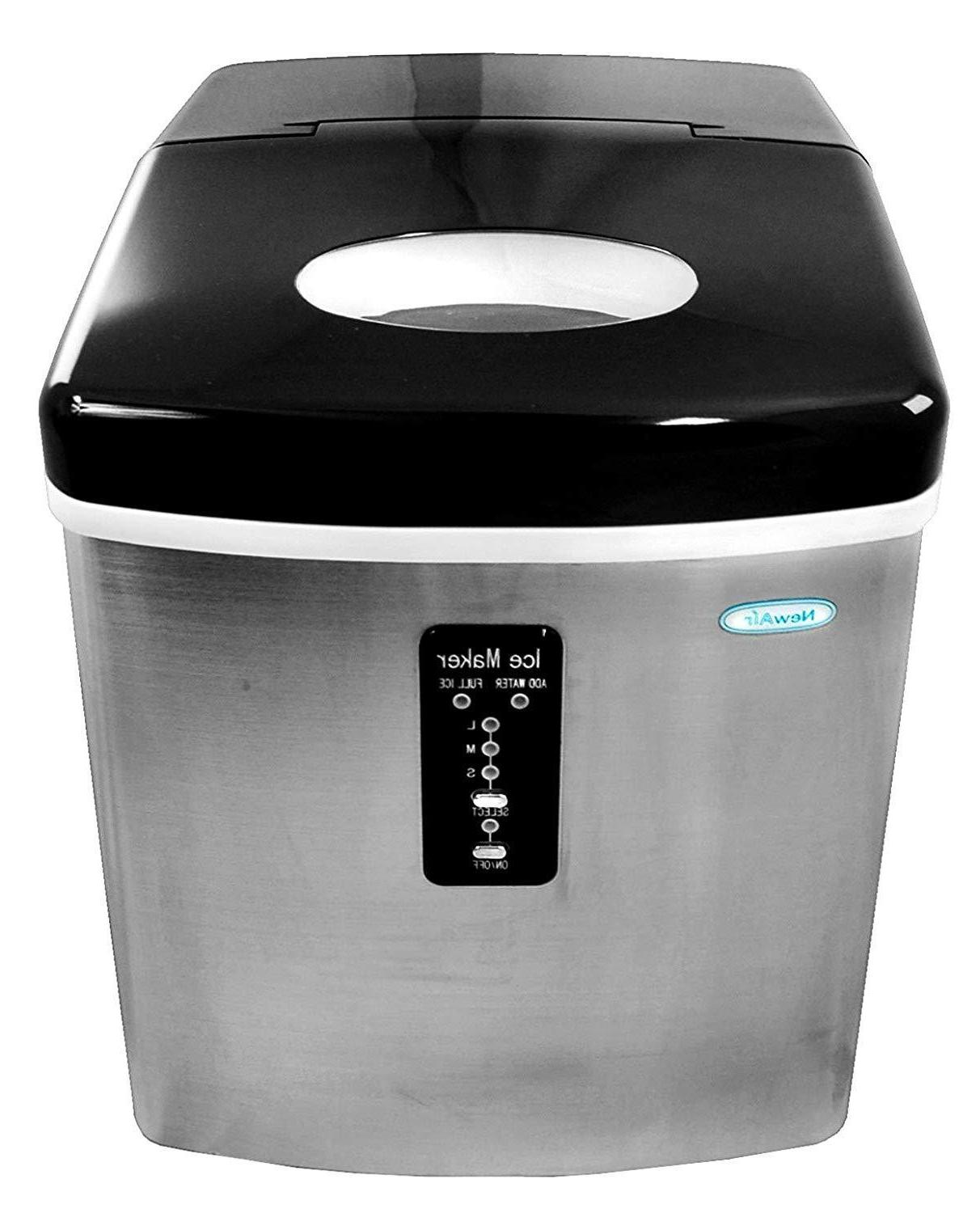 ice maker compact counter top portable sonic